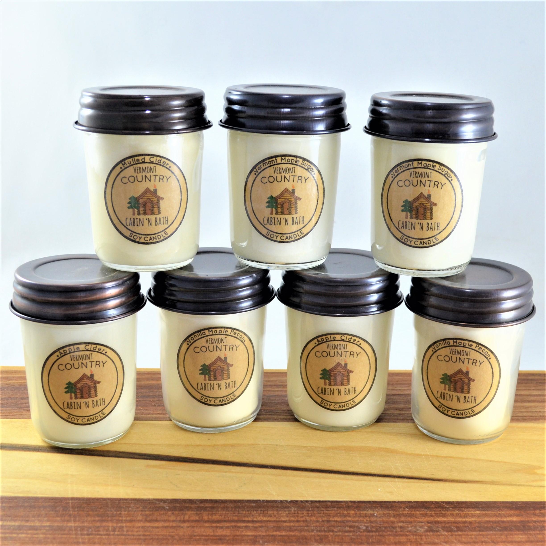 8 oz  Dye Free Soy Jar Candle